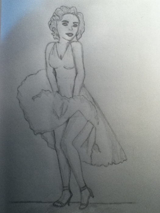 Marilyn Monroe por DanyChuquimarca